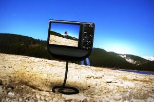 仿蛇形的创意相机支架
