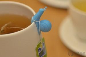 实用性很强的创意杯子蜗牛标识