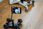 固定相机的四轮相机架