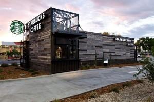可移动式房车的创意咖啡店