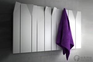 浴室加热器多用途毛巾架