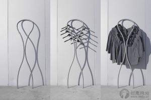 造型非常优雅的创意衣架