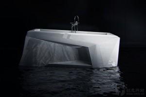 极具创意的北极冰川风格浴缸设计