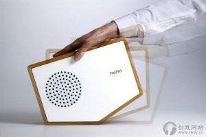交互设计的创意收音机