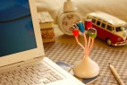 发芽样式的创意USB分线器