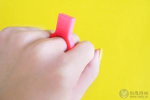 迷你戒指样式的创意U盘