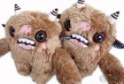 另类恐怖的创意毛绒娃娃玩具