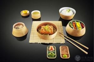 木制环保的创意餐具套装