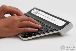 带显示屏的创意键盘设计