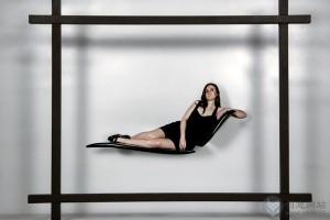 相框里的飘浮座椅感受体验
