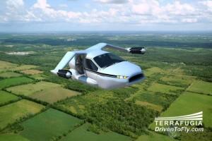 会飞行的混动创意概念车设计