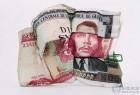 恶搞钱币图案的创意混搭效果