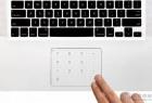 笔记本电脑触控板上的小键盘