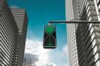 沙漏红绿灯 摆脱枯燥的交通