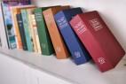 英文字典造型的保险箱