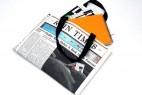 环保的报纸样式布包