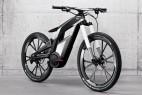 奥迪概念碳纤维自行车