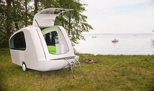 水陆两栖的露营车箱产品概念车