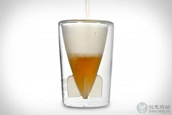 炸弹客的创意双层玻璃酒杯(二)