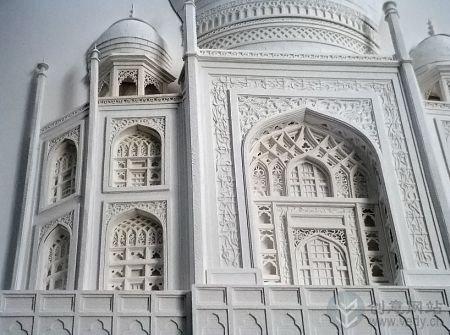 创意手工制作的纸质浮雕艺术