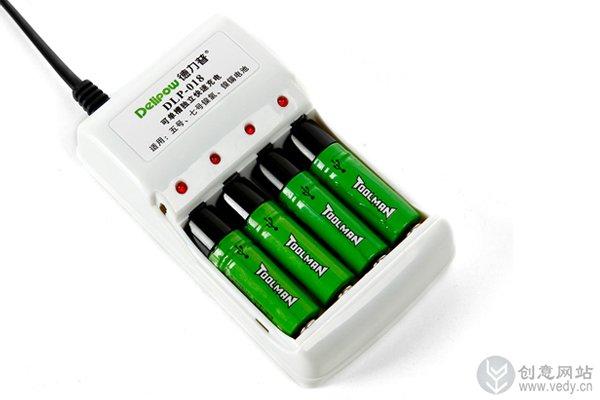 用USB接口充电的usb充电电池5号(二)