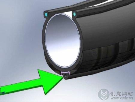 通过胎压检测的自动充气轮胎