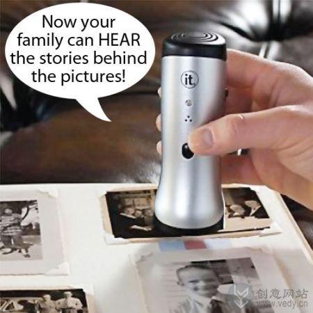 可以记录故事的照片阅读器