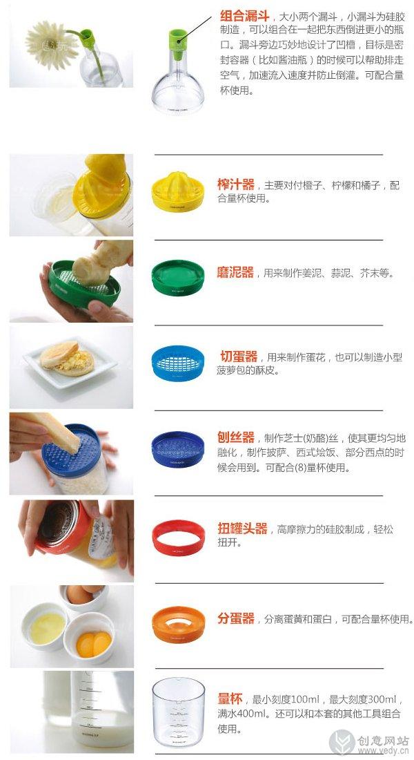 多功能的创意厨房用品8件套(六)