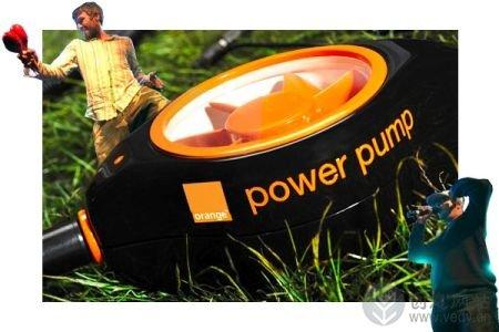 可以手摇和脚踏充电的户外充电器