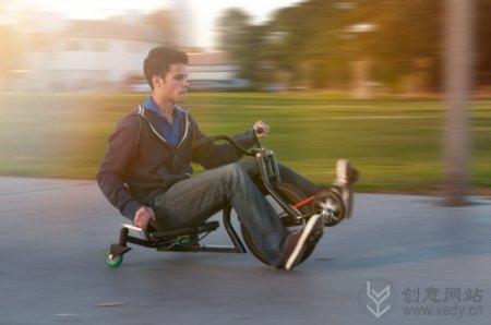国外创意好玩的竞技三轮小车