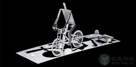 折纸艺术的创意名片设计
