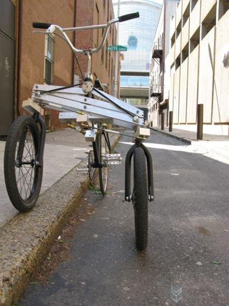 不一样的创意改装三轮车