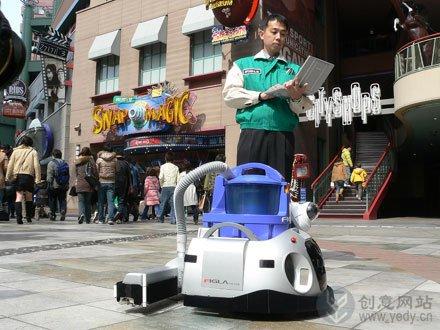 多功能清洁工的智能机器人