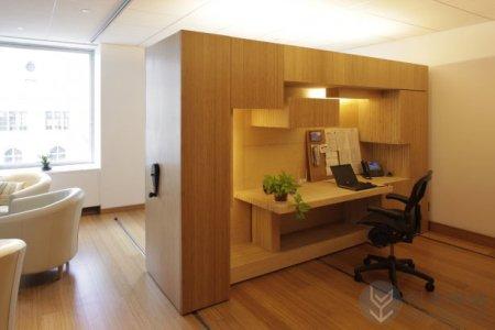 灵活的滑动间隔办公室创意隔断