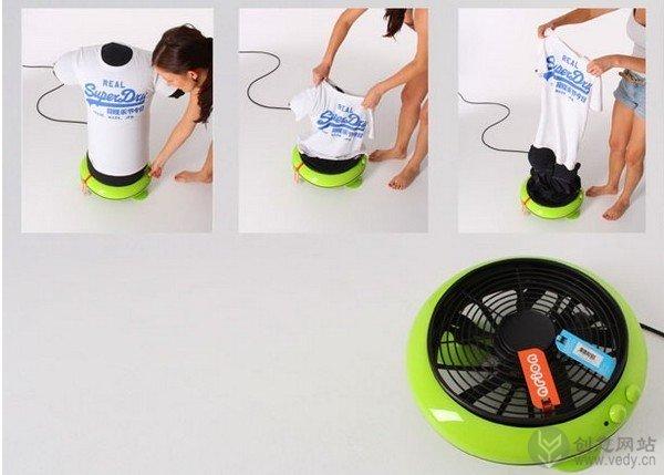 创意熨烫系统的衣服烘干器(三)