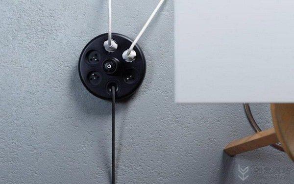 功能强大的排插创意理线器