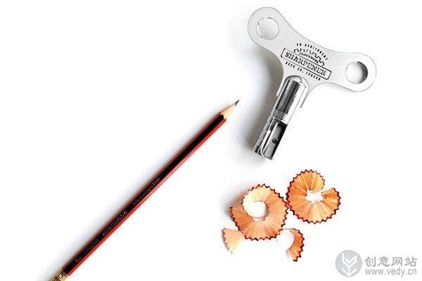 有趣发条形状的卷笔刀(二)