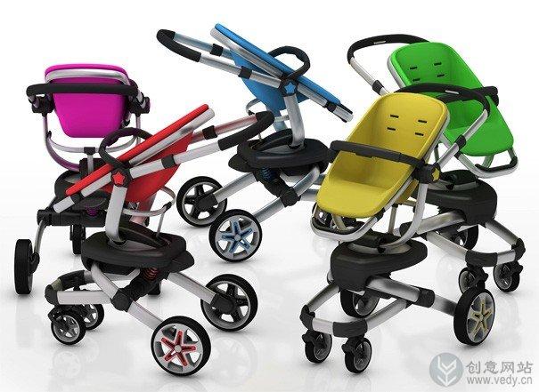 概念婴儿车设计创意