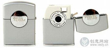 新奇特造型设计的创意相机