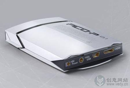 激光微型投影仪的随身携带创意设计