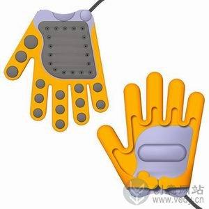 手套式的创意电熨斗
