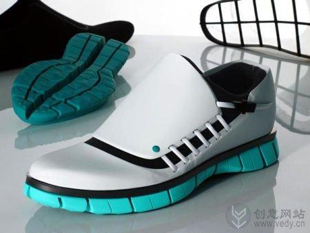 模块化组装的创意跑鞋