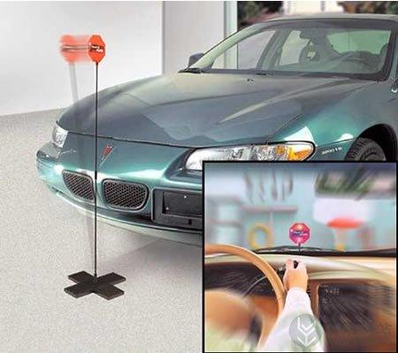 弹性停车牌的创意辅助停车装置