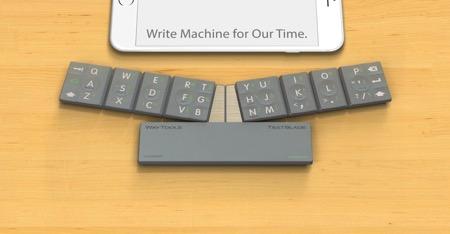 支持IOS系统的迷你外接蓝牙键盘设计