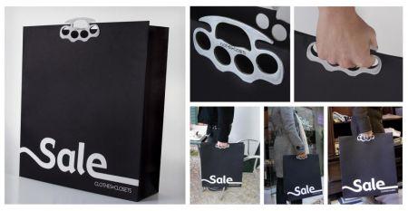 另类手提袋的平面广告创意设计