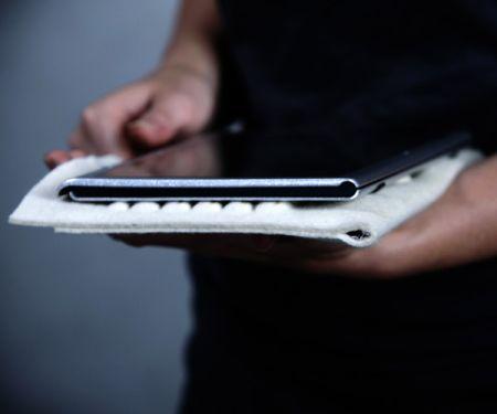 带键盘功能的软式平板电脑保护套