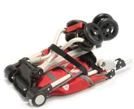 折叠功能创意的收纳背包婴儿车