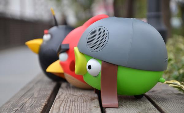 愤怒的小鸟系列音箱创意设计