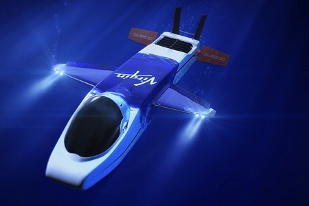 新型创意的水下飞机潜艇