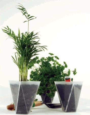轻便环保的创意室内花盆